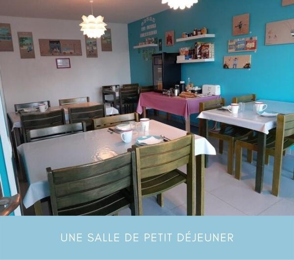 Escale dans les Dunes chambres et tables d'hôtes à Créances Manche